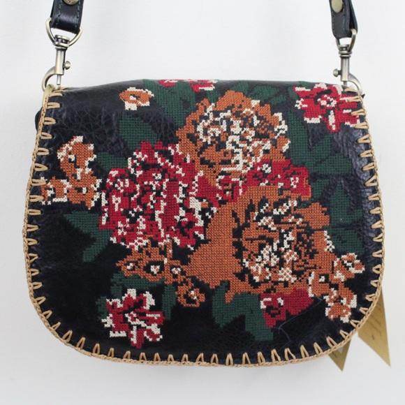 Patricia Nash Handbags - Patricia Nash Tapesty Stitch Salerno Crossbody Bag